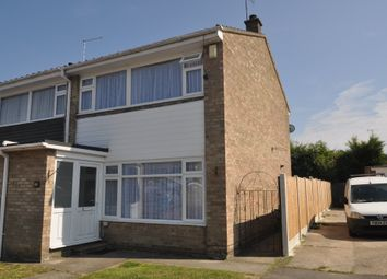 Thumbnail 3 bed end terrace house for sale in Drake Close, Benfleet