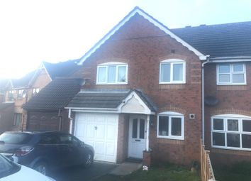 Thumbnail 3 bedroom semi-detached house to rent in Paddock View, Wolverhampton