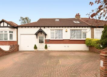 Thumbnail 4 bed semi-detached bungalow for sale in Lyndhurst Gardens, Pinner, Middlesex