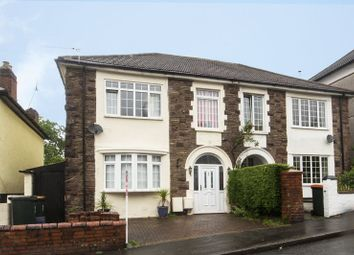 Thumbnail 4 bedroom semi-detached house for sale in Woodland Park Road, Newport