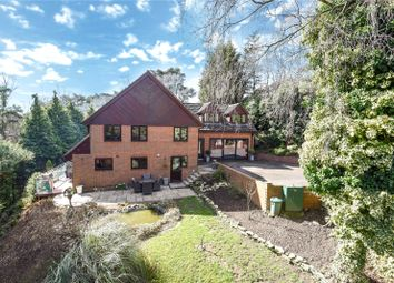 Thumbnail 5 bed detached house for sale in Walkers Ridge, Camberley, Surrey