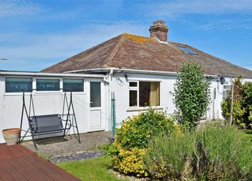 Thumbnail 2 bed semi-detached bungalow for sale in Alexandra Road, Capel-Le-Ferne, Folkestone, Kent