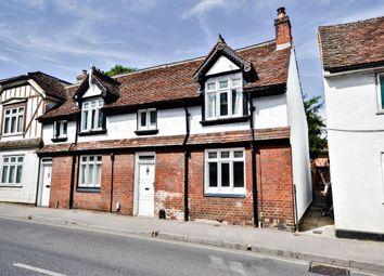 Thumbnail 3 bed semi-detached house for sale in London Road, Saffron Walden