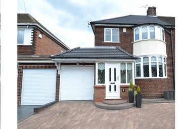 3 bed semi-detached house for sale in Kingswood Drive, Streetly, Sutton Coldfield B74