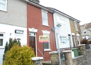 Thumbnail 2 bed terraced house to rent in Bowes Road, Strood, Rochester