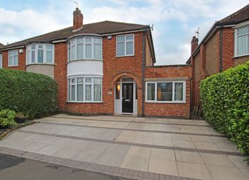 Thumbnail 4 bed semi-detached house for sale in Mere Road, Wigston