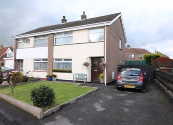 Thumbnail 3 bed semi-detached house for sale in Hazelwood Drive, Newtownards