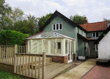 Thumbnail 3 bed detached house to rent in The Turnpike, Bunwell, Norwich