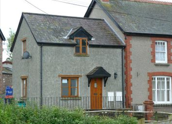 Thumbnail 2 bed end terrace house to rent in Fronwen Terrace, Llangors, Brecon