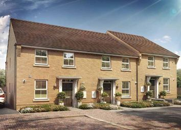 "Thumbnail 3 bedroom end terrace house for sale in ""Ashurst"" at Briggington, Leighton Buzzard"