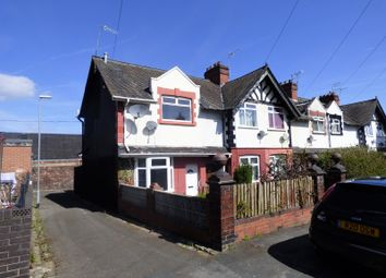 Thumbnail 2 bed end terrace house to rent in Hughes Street, Burslem, Stoke-On-Trent