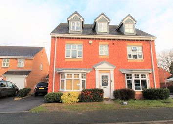 Thumbnail 5 bed detached house for sale in Richardson Way, Rugeley