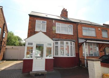 Thumbnail 4 bed semi-detached house for sale in Roseneath Avenue, Rushey Mead, Leicester
