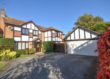 Thumbnail 5 bed detached house for sale in Leigh Close, West Bridgford, Nottingham