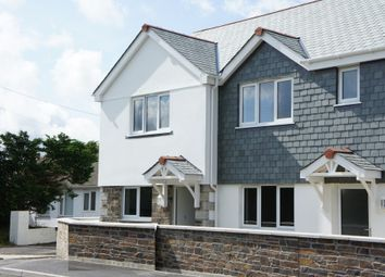 Thumbnail 2 bed end terrace house to rent in Church Road, Shortlanesend, Truro