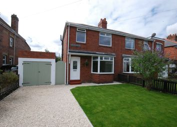 Thumbnail 3 bed semi-detached house for sale in Woodhorn Road, Newbiggin-By-The-Sea