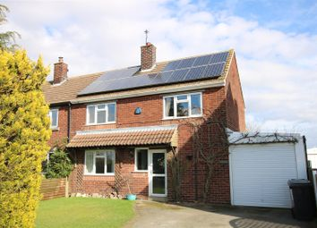 Thumbnail 3 bed semi-detached house for sale in Bassingham Road, Thurlby, Lincoln