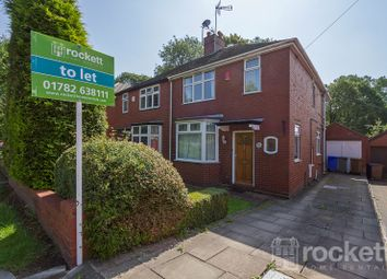 Thumbnail 3 bed semi-detached house to rent in Ashlands Road, Hartshill, Stoke On Trent, Staffordshire