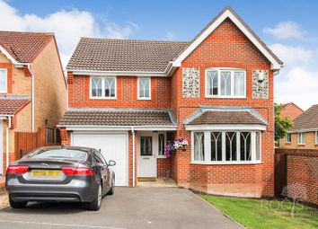 Thumbnail 4 bed detached house for sale in Foxglove Way, Thatcham