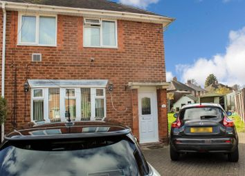 Thumbnail 3 bed terraced house for sale in Shelley Croft, Kitts Green, Birmingham