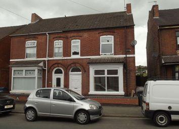 Thumbnail 1 bedroom semi-detached house to rent in Calais Road, Burton-On-Trent