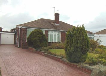 Thumbnail 2 bed semi-detached bungalow to rent in Larchwood Avenue, North Gosforth, Newcastle Upon Tyne