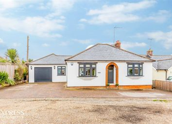 Thumbnail 3 bed detached bungalow for sale in The Chase, Barnston, Dunmow, Essex