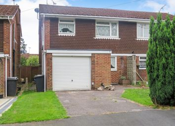 Thumbnail 3 bed semi-detached house for sale in Overbrook Way, North Baddesley, Southampton