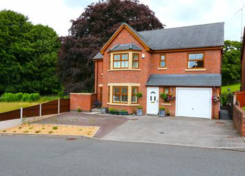 Thumbnail 5 bed detached house for sale in Badgers Rise, Leek