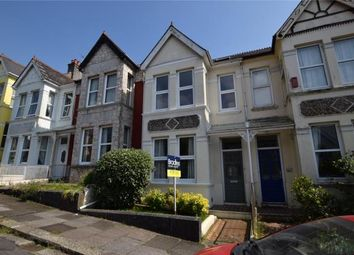 Thumbnail 3 bed terraced house for sale in Edgcumbe Park Road, Plymouth, Devon
