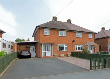 Thumbnail 3 bed semi-detached house for sale in Poynton Road, Shawbury, Shrewsbury