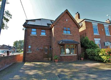Thumbnail 5 bed detached house for sale in New Street, Haslington, Crewe