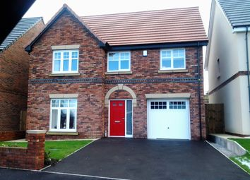 Thumbnail 4 bed detached house for sale in Elbourne Drive, Scholar Green