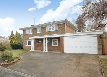Thumbnail 4 bed detached house to rent in Mill Pond Road, Windlesham