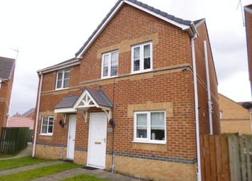 Thumbnail 3 bed semi-detached house to rent in Warner Avenue, St. Helen Auckland, Bishop Auckland