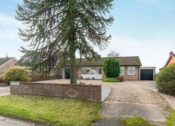 Thumbnail 3 bedroom detached bungalow for sale in The Street, Hepworth, Diss