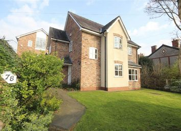 Thumbnail 4 bedroom detached house for sale in Hazelhurst Road, Worsley, Manchester