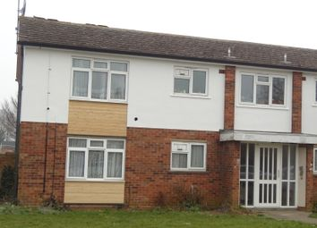 Thumbnail 1 bed flat to rent in Lea Way, Wellingborough