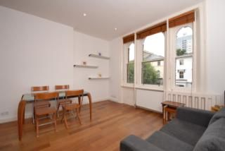 Thumbnail 1 bed flat for sale in Priory Rd, West Hampstead