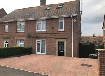 Thumbnail 3 bed semi-detached house for sale in Dundee Road, Weymouth