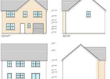 Thumbnail 4 bed detached house for sale in Clos Y Gat, Gorslas, Llanelli