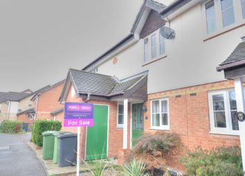 Thumbnail 2 bed terraced house for sale in Brunswick Close, Toftwood, Dereham