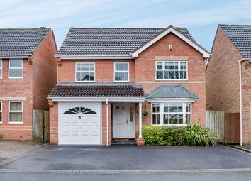 Thumbnail 4 bed detached house for sale in Defford Close, Webheath, Redditch