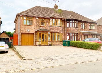 Thumbnail 4 bed semi-detached house for sale in Kenpas Highway, Finham, Coventry