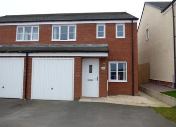 Thumbnail 3 bed semi-detached house for sale in Speckled Wood Drive, Carlisle, Cumbria