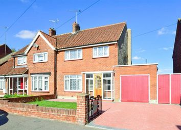 Thumbnail 3 bed semi-detached house for sale in Dene Holm Road, Northfleet, Gravesend, Kent