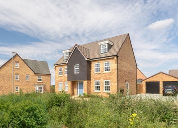 "Thumbnail 5 bed detached house for sale in ""Lichfield"" at Carters Lane, Kiln Farm, Milton Keynes"