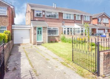 Thumbnail 3 bed semi-detached house for sale in Binsted Way, Sheffield