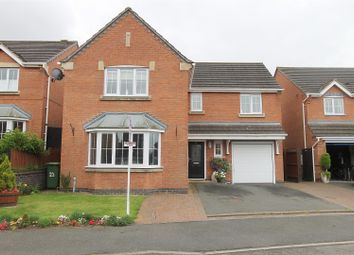 Thumbnail 4 bed detached house for sale in Seagrave Drive, Hasland, Chesterfield
