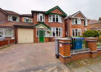 Thumbnail 4 bed detached house for sale in Canterbury Road, Davyhulme, Trafford
